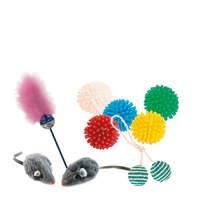 Игрушки и аксессуары для кошек